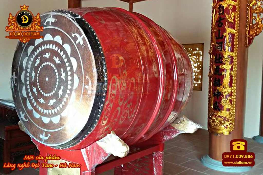 Trống chùa cỡ lớn - Đồ Gỗ Đọi Tam